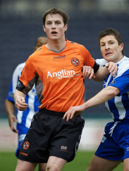 Jon Daly, Dundee Utd.stock season 2006-2007.pic willie vass