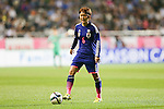 Mizuho Sakaguchi(JPN),<br /> MAY 28, 2015 - Football / Soccer : KIRIN Challenge Cup 2015 match between Japan 1-0 Italy at Minaminagano Sports Park in Nagano, Japan.<br /> (Photo by AFLO)