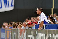 Peter Vermes...Kansas City Wizards defeated Toronto FC 1-0 at Community America Ballpark, Kansas City, Kansas.
