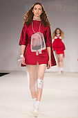 Collection by Hollie Robinson from UCLAN, University of Central Lancashire. Graduate Fashion Week 2014, Runway Show at the Old Truman Brewery in London, United Kingdom. Photo credit: Bettina Strenske