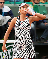 ANA IVANOVIC (SRB)<br /> <br /> TENNIS - FRENCH OPEN - ROLAND GARROS - ATP - WTA - ITF - GRAND SLAM - CHAMPIONSHIPS - PARIS - FRANCE - 2016  <br /> <br /> <br /> <br /> &copy; TENNIS PHOTO NETWORK