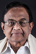 P.Chidambaram, India's Finance Minister poses for a portrait in his office in New Delhi, India. Sanjit Das/Panos