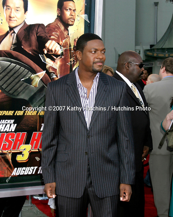 "Chris Tucker .""Rush Hour 3"" Premiere.Grauman's Chinese.Los Angeles, CA.July 30, 2007.©2007 Kathy Hutchins / Hutchins Photo...."