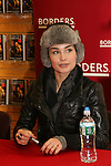 Ewa da Cruz of As The World Turns poses on January 31, 2009 at Borders in Westbury, New York as she signs The Man from Oakdale - a Novel by Henry Coleman. (Photo by Sue Coflin/Max Photos)