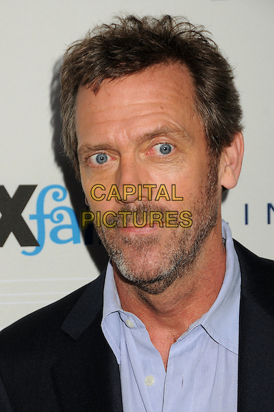 HUGH LAURIE .Fox Fall Eco-Casino Party 2010 held at BOA Steakhouse, West Hollywood, California, USA, 13th September 2010..portrait headshot blue shirt navy suit beard facial hair funny .CAP/ADM/BP.©Byron Purvis/AdMedia/Capital Pictures.