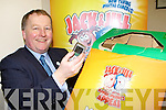 Paul Sheery from the Killarney Outlet Centre who is appealing for people to donate their old mobile phones to the Jack&Jill collection box in the centre   Copyright Kerry's Eye 2008