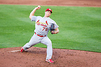Trevor Rosenthal (79) of the St. Louis Cardinals delivers a pitch during a game against the Springfield Cardinals at Hammons Field on April 2, 2012 in Springfield, Missouri. (David Welker/Four Seam Images).