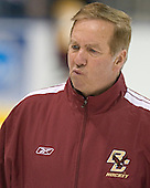 Jim Logue - The Boston College Eagles practiced on Wednesday, April 5, 2006, at the Bradley Center in Milwaukee, Wisconsin, in preparation for their 2006 Frozen Four Semi-Final game against the University of North Dakota.