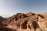 Israel, Eilat Mountains. View south from Mount Amir
