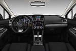Stock photo of straight dashboard view of a 2017 Subaru Levorg GT-S Premium 5 Door Wagon
