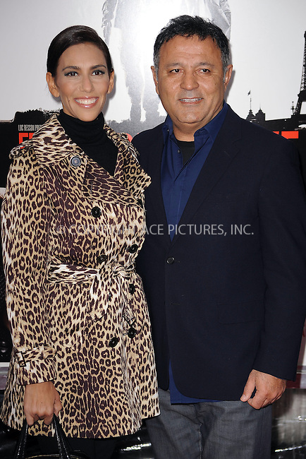 WWW.ACEPIXS.COM . . . . . ....January 28 2010, New York City....Designer Elie Tahari (R) and Rory Tahari arriving at the 'From Paris With Love' premiere at the Ziegfeld Theatre on January 28, 2010 in New York City. ....Please byline: KRISTIN CALLAHAN - ACEPIXS.COM.. . . . . . ..Ace Pictures, Inc:  ..(212) 243-8787 or (646) 679 0430..e-mail: picturedesk@acepixs.com..web: http://www.acepixs.com