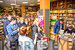 A good crowd came to see Tomas O Se at his book signing in O'Mahony's Bookshop Tralee on Saturday