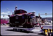 Caboose #0524 - Durango Centennial Celebration 1981.<br /> D&amp;RGW  Durango, CO  1981