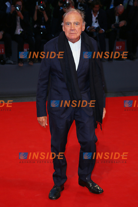 VENICE, ITALY - SEPTEMBER 10: Bruno Ganz attends 'Remember' Red Carpet during 72nd Venice Film Festival at Palazzo Del Cinema on September 3, 2015 in Venice, Italy. (Mark Cape/insidefoto)