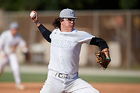 Jack Crowder (7) during the WWBA World Championship at the Roger Dean Complex on October 13, 2019 in Jupiter, Florida.  Jack Crowder attends Plainfield East High School in Romeoville, IL and is committed to Illinois.  (Mike Janes/Four Seam Images)