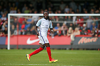 Tafari Moore (FC Utrecht, loan from Arsenal) of England during the International match between England U20 and Brazil U20 at the Aggborough Stadium, Kidderminster, England on 4 September 2016. Photo by Andy Rowland / PRiME Media Images.