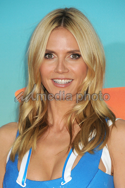 12 March 2016 - Inglewood, California - Heidi Klum. 2016 Nickelodeon Kids' Choice Awards held at The Forum. Photo Credit: Byron Purvis/AdMedia
