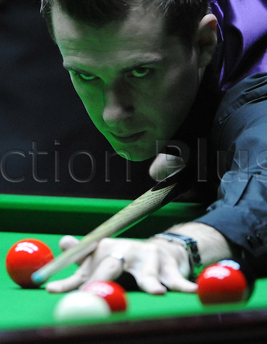 Sep 11, 2010; Shanghai, CHINA; Ali Carter of England defeats Mark Selby of England 6:2 in a semifinal of the Roewe Shanghai Masters.