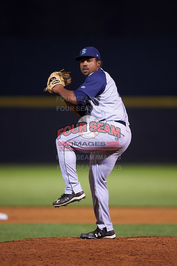 Brooklyn Cyclones pitcher Corey Taylor (47) delivers a pitch during a game against the Tri-City ValleyCats on September 1, 2015 at Joseph L. Bruno Stadium in Troy, New York.  Tri-City defeated Brooklyn 5-4.  (Mike Janes/Four Seam Images)