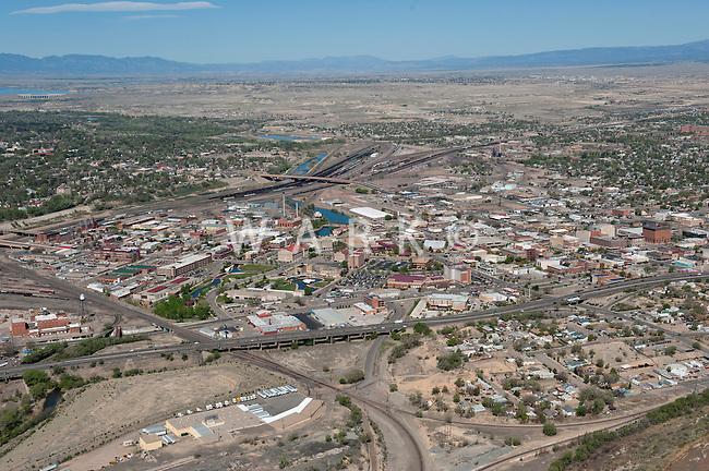 Aerial Pueblo,Colorado looking northwest. April 2012
