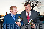 John O'Leary and Brian Cowan share a joke