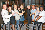 Let's Dance : Enjoying a Salsa session in the Abbey Inn, Tralee on Saturday night were members from the weekly Salsa classes which are held in the Greyhound bar, Tralee every Tuesday night, which are open to anyone, were l-r: Darius Montvydas, Una Adamane, Ed Mulvihill, Jurga Montvydiene, Laurence Wetterwald, Jerry Jaronymo, Anika Wojewska and Thomas Tcheuffa.