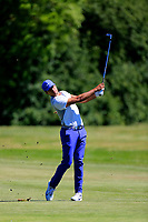 Julian Suri (USA) during the second round of the Lyoness Open powered by Organic+ played at Diamond Country Club, Atzenbrugg, Austria. 8-11 June 2017.<br /> 09/06/2017.<br /> Picture: Golffile | Phil Inglis<br /> <br /> <br /> All photo usage must carry mandatory copyright credit (&copy; Golffile | Phil Inglis)