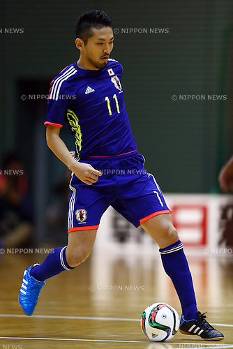Shota Hoshi (JPN), DECEMBER 18, 2014 - Futsal : International Friendly Match between Japan 1-1 Croatia at Komazawa gymnasium, Tokyo, Japan. (Photo by AFLO SPORT) [1180]