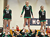 The Seaford varsity cheerleaders perform during an invitational competition held at Smithtown High School West on Saturday, Dec. 17, 2016.