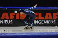 SCHAATSEN: HEERENVEEN: 24-10-2014, IJsstadion Thialf, Trainingswedstrijd, Manon Kamminga, ©foto Martin de Jong