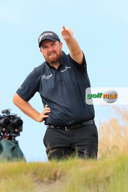 Shane LOWRY (IRL) on the 16th tee during Thursday's Round 1 of the 2015 U.S. Open 115th National Championship held at Chambers Bay, Seattle, Washington, USA. 6/19/2015.<br /> Picture: Golffile | Eoin Clarke<br /> <br /> <br /> <br /> <br /> All photo usage must carry mandatory copyright credit (&copy; Golffile | Eoin Clarke)