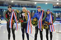 NK Junioren Thialf 161217 Huldigingen