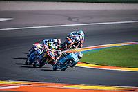 VALENCIA, SPAIN - NOVEMBER 8: Efren Vazquez during Valencia MotoGP 2015 at Ricardo Tormo Circuit on November 8, 2015 in Valencia, Spain