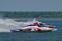 "Mike Monahan, GP-35 ""TM Special"" and Bert Henderson, GP-777 ""EMS Steeler"" (Grand Prix Hydroplane(s)"