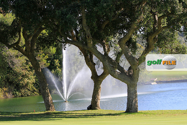 Scenic views during the 2nd day at the  Andalucía Masters at Club de Golf Valderrama, Sotogrande, Spain. .Picture Denise Cleary www.golffile.ie