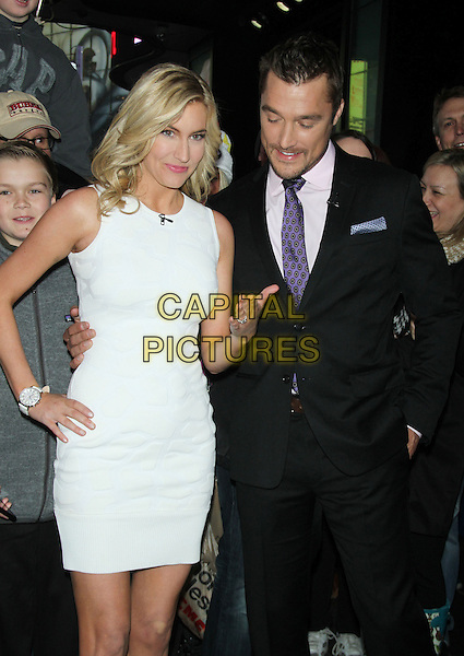 NEW YORK, NY - MARCH 10: Whitney Bischoff and Chris Soules at ABC's Good Morning America in New York City on March 10, 2015. <br /> CAP/MPI/RW<br /> &copy;RW/MPI/Capital Pictures