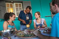 """France, Ile de la Réunion, Sainte-Suzanne: Cours de cuisine créole par  Jacky Amourougon """"Le Far Far Kréol""""  // France, Ile de la Reunion, (French overseas department), Sainte Suzanne:  Creole cuisine lessons,by Jacky Amourougon<br /> <br /> Auto N°: 2014-106<br /> Auto N°: 2014-107<br /> Auto N°: 2014-108<br /> Auto N°: 2014-109"""