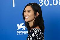 Tao Okamoto at the &quot;Zhuibu (Manhunt) &quot; photocall, 74th Venice Film Festival in Italy on 8 September 2017.<br /> <br /> Photo: Kristina Afanasyeva/Featureflash/SilverHub<br /> 0208 004 5359<br /> sales@silverhubmedia.com