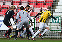 East Fife's Nathan Austin scores their second goal.