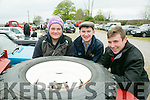 l-r  Sean Kelleher, Mike Cremmins and Diarmuid McCarthy from Castleisland with a Land Rover Stage One V8 3.5 litre petrol from Camp at the Kingdom County Fair in Ballybeggan on Sunday