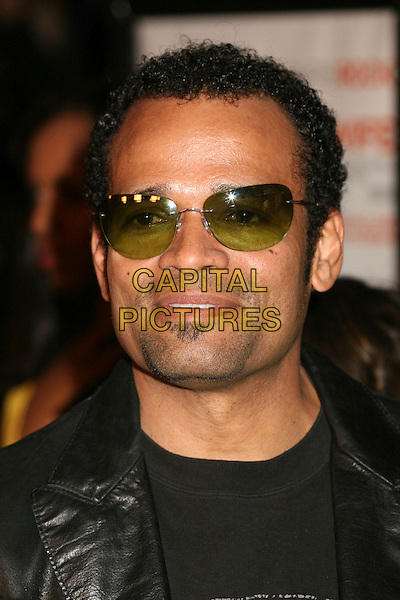 "MARIO VAN PEEBLES .""I Think I Love My Wife"" Los Angeles Premiere at ArcLight Cinemas, Hollywood, California, USA..March 7th, 2007.headshot portrait sunglasses shades soul patch .CAP/ADM/BP.©Byron Purvis/AdMedia/Capital Pictures"