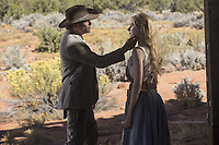 WESTWORLD (season 2)<br /> JAMES MARSDEN, EVAN RACHEL WOOD<br /> *Filmstill - Editorial Use Only*<br /> CAP/FB<br /> Image supplied by Capital Pictures