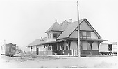 View of D&amp;RGW Moffat depot from southwest.  This depot was retired in 1941.<br /> D&amp;RGW  Moffat, CO  Taken by Best, Gerald M. - 7/12/1939