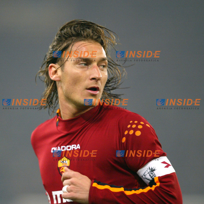 Roma 8/2/2004 Roma Juventus 4-0<br /> Francesco Totti (Roma)<br /> Photo Andrea Staccioli Insidefoto
