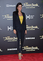 LOS ANGELES, CA. April 4, 2016. Actress Angie Harmon at the world premiere of &quot;The Jungle Book&quot; at the El Capitan Theatre, Hollywood.<br /> Picture: Paul Smith / Featureflash