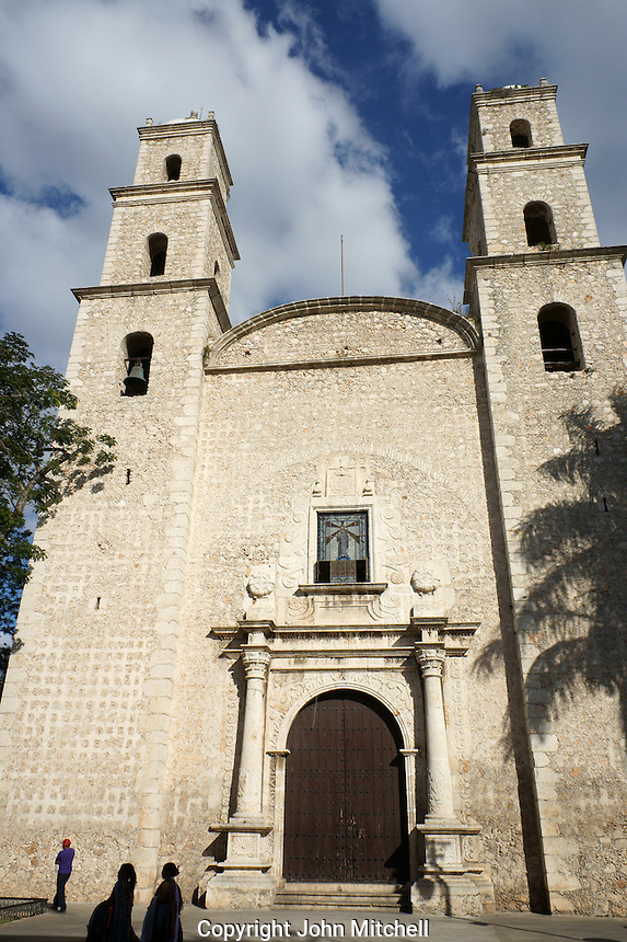 Iglesia de Jesus or Iglesia de la Tercera Orden church in Merida, Yucatan, Mexico...