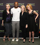 Julie Halston, Brandon Victor Dixon, Daryl Roth and and Maddie Corman attends the Off-Broadway Opening Night arrivals for 'Vitaly: An Evening of Wonders' at the Westside Theatre on June 20, 2018 in New York City.