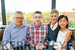 John, Tom, Zio and Fiona Geaney