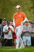 Jazz Janewattananond (THA) watches his tee shot on 6 during round 4 of the 2019 PGA Championship, Bethpage Black Golf Course, New York, New York,  USA. 5/19/2019.<br /> Picture: Golffile | Ken Murray<br /> <br /> <br /> All photo usage must carry mandatory copyright credit (© Golffile | Ken Murray)