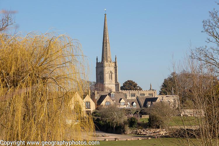 Church of Saint Lawrence, Lechlade, Gloucestershire, England, UK